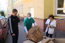 Gmina Żnin wsparła placówki ochrony zdrowia