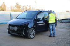 Policjanci z Szubina odzyskali skradzionego Mercedesa wartego ponad ćwierć miliona złotych