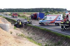 Tragiczny w skutkach wypadek na drodze krajowej nr 5