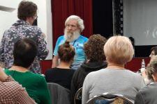 Aleksander Doba na spotkaniu w Żnińskim Domu Kultury