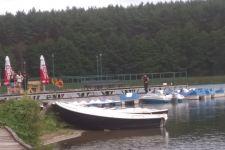 Nadal trwają poszukiwania na jeziorze Chomiąskim