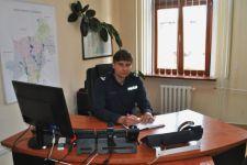 Podinsp. Rafał Makarewicz pełniącym obowiązki Pierwszego Zastępcy Komendanta Powiatowego Policji w Żninie
