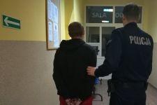 Mieszkaniec gminy Łabiszyn na 3 miesiące trafił do aresztu za rozbój