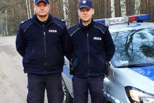 Łabiszyńscy policjanci zapobiegli tragedii