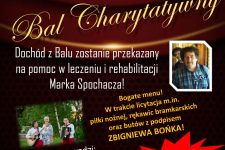 Organizują Bal Charytatywny dla Marka Spochacza