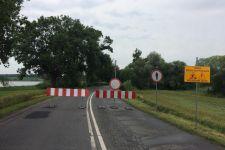 Most w Gąsawie zamknięty
