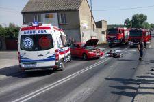 Młody kierowca stracił prawo jazdy za spowodowanie wypadku