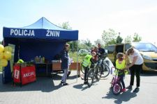 58 rowerów oznakowanych w ramach wspólnej akcji