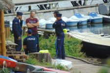 Oficjalny komunikat policji w sprawie tragedii na jeziorze Chomiąskim [ZDJĘCIA]