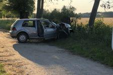 Szubin: Kierowca bez uprawnień sprawcą wypadku
